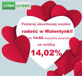 Tańsza pożyczka na Walentynki, foto
