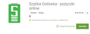 Aplikacje Szybka Gotowka