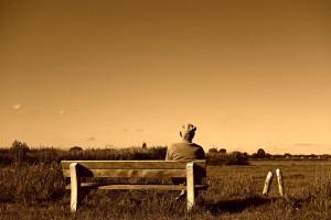 Polski emeryt medytacje